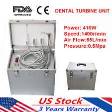 410w Dental Portable Turbine Unit Suction System Compressor Treatment Noiseless