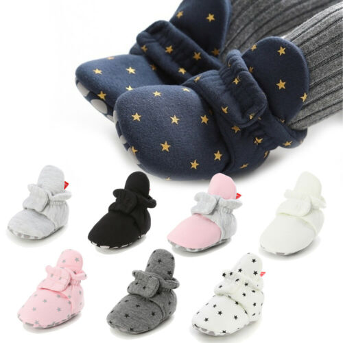 Newborn Baby Socks Shoes Baby Socks Shoes First Walkers Booties Comfort Soft