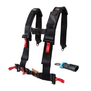 Tusk 4 Point 3 inch H-Style Safety Harness Belt Driver Side CAN-AM