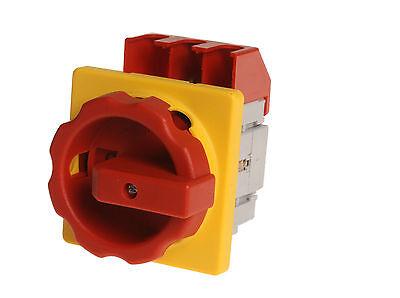 GüNstiger Verkauf Not-halt-hauptschalter 3-pol., 63a 22kw Ac23 , Nr. 4073.4016