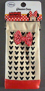 Disney-Minnie-Mouse-Brillenetui-Tasche-Damen-Sonnenbrille-Huelle-Etui-Mickey-Maus