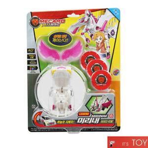 BBASHA PASHA MECARD LEGEND MIRINAE ITEM SET Unicorn Transformer Robot Car Toy