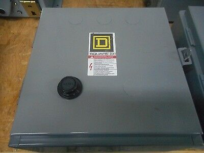 SQUARE D 30072-007-68C ELECTRICAL ENCLOSURE NEMA SIZE 1 STARTER