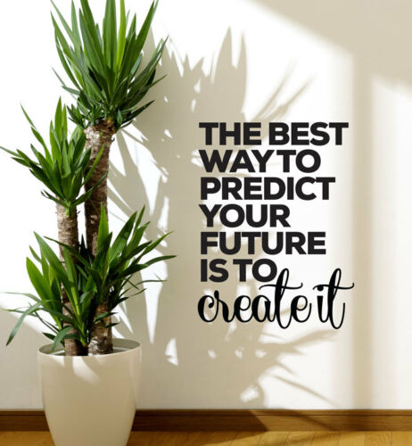 The Best Way To Predict Wall Sticker Home Quotes Inspirational Love MS021VC