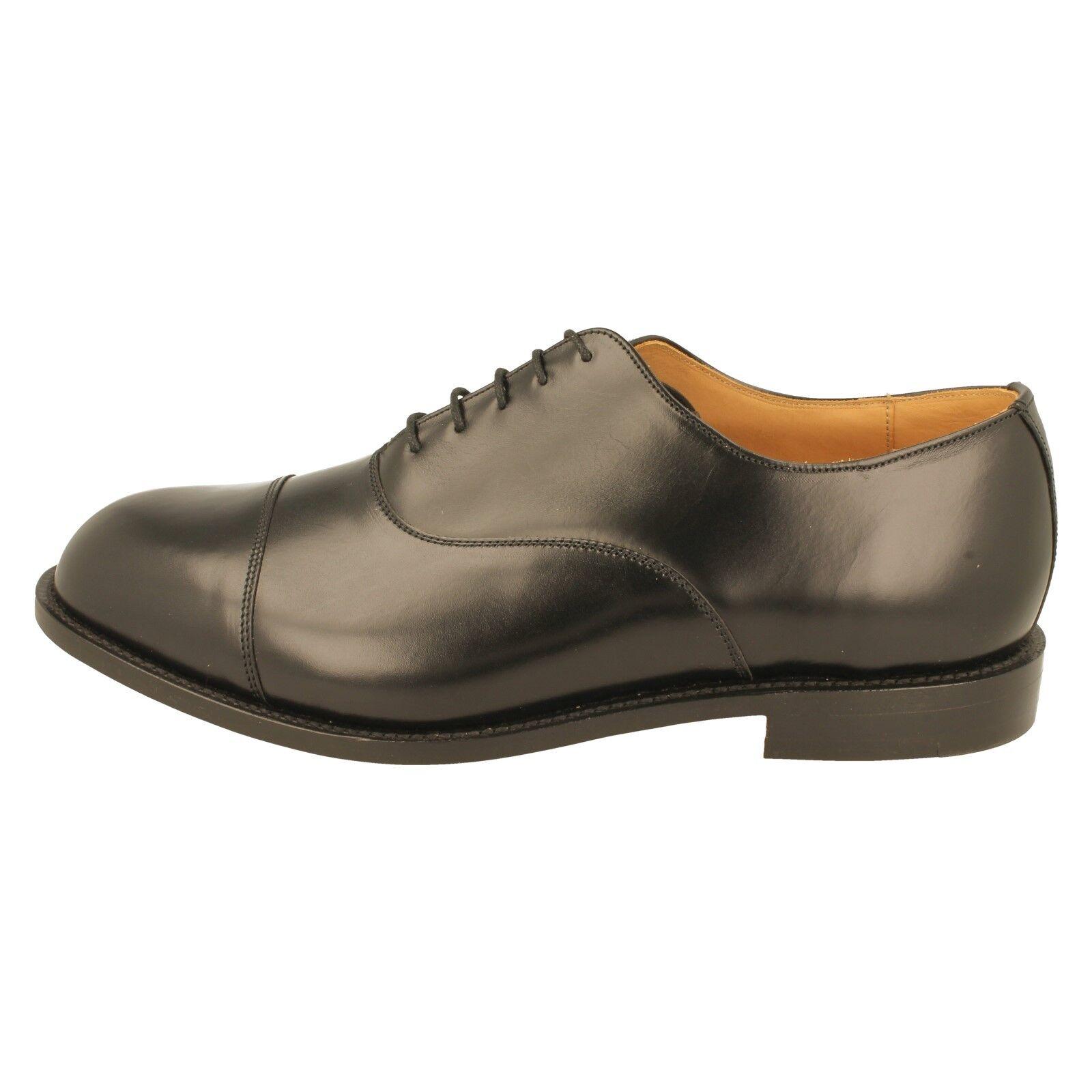 Mens DB Oxford Goodyear Fitt Welted Shoes  EE-4E Wide Fitt Goodyear - Ivor 76984b