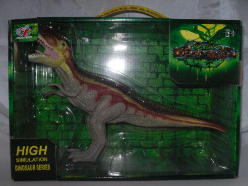 Grand dinosaure Tyrannosaure environ 17 cm H Neuf dans sa boîte Primeval NOUVEAU environ 26 cm l
