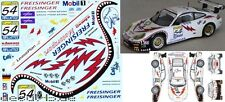 1/43 Decal Porsche 911 GT3 RS Freisinger Motorsport 3rd 24h Spa 2002 Winner N-GT