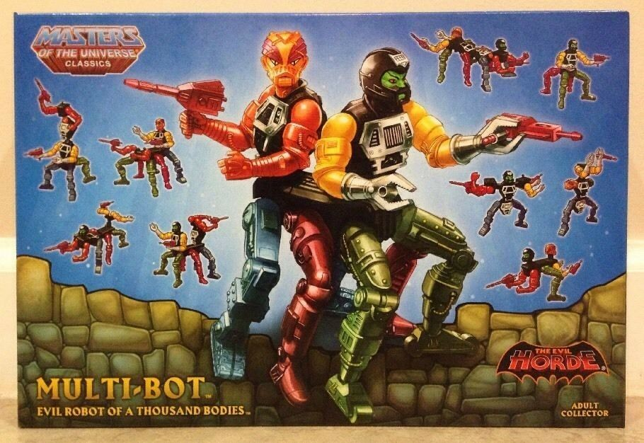 MOTUC MASTERS OF THE UNIVERSE CLASSICS MULTI-BOT MOC ACTION FIGURE