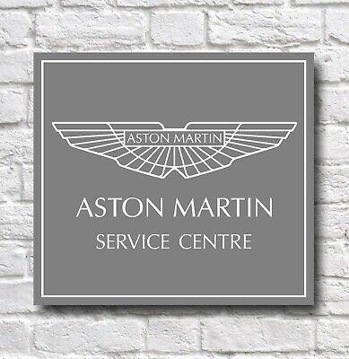 Aston Martin Service Centre 2ft Car Badge Emblem Garage Wall Sign Plaque Vantage Ebay