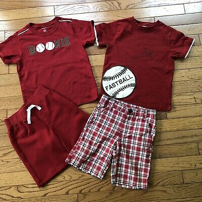 NWT Gymboree MIX N MATCH Boys Sz Small 5-6 Basketball Tee Shirt /& Pants 2-PC SET