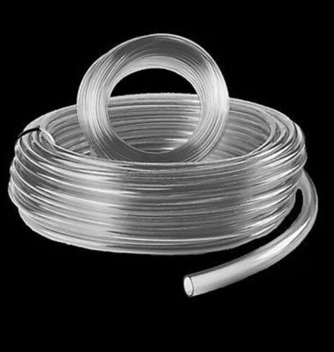 6mm//10mm I//O Diameter One 10 Metre Length of Clear PVC Flexible Pastic Tubing