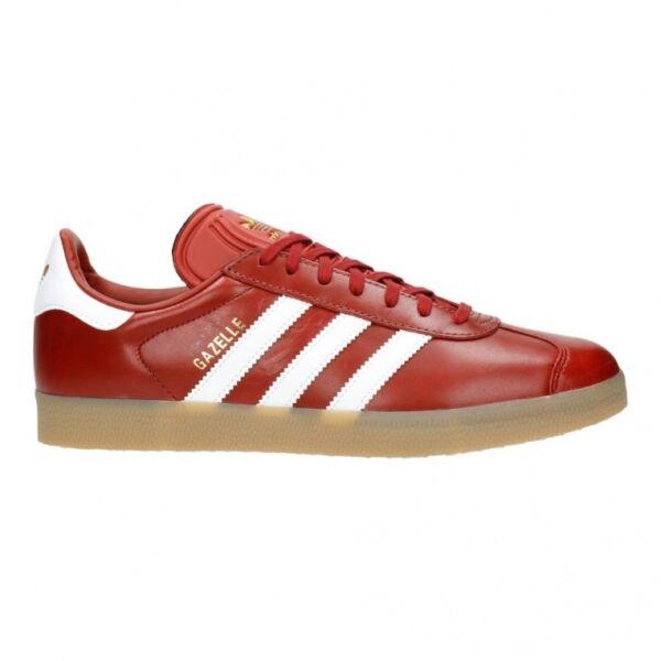 reputable site 29a51 658b5 Adidas Gazelle Scarpe Retrò Sneaker Bianco Rosso Oro Metallizzato Bz0025  EUR 42 2 3   Acquisti Online su eBay