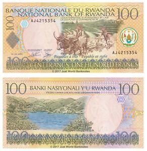 Rwanda-100-Francs-2003-P-29b-Banknotes-UNC