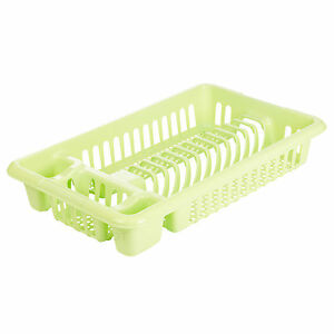 Incroyable Image Is Loading Plastic Dish Plate Utensil Rack Kitchen Sink Drainer