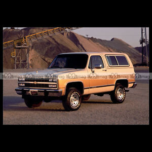 #pha.014094 Photo CHEVROLET K5 BLAZER 1991 Car Auto 9sXo1CKc-09094219-928438701
