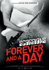 SCORPIONS: FOREVER AND A DAY - Orig.Kino-Plakat A1 - Doris Dörrie - Gerollt
