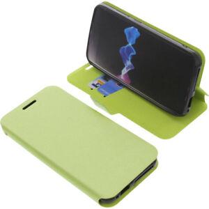 Custodia-Per-HOMTOM-ht37-SMARTPHONE-stile-libro-protettiva-cellulare-a-verde
