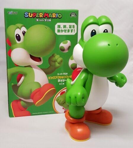 NEW Taito Super Mario Big Large DX Yoshi Action Figure 28cm TAI89600 US Seller