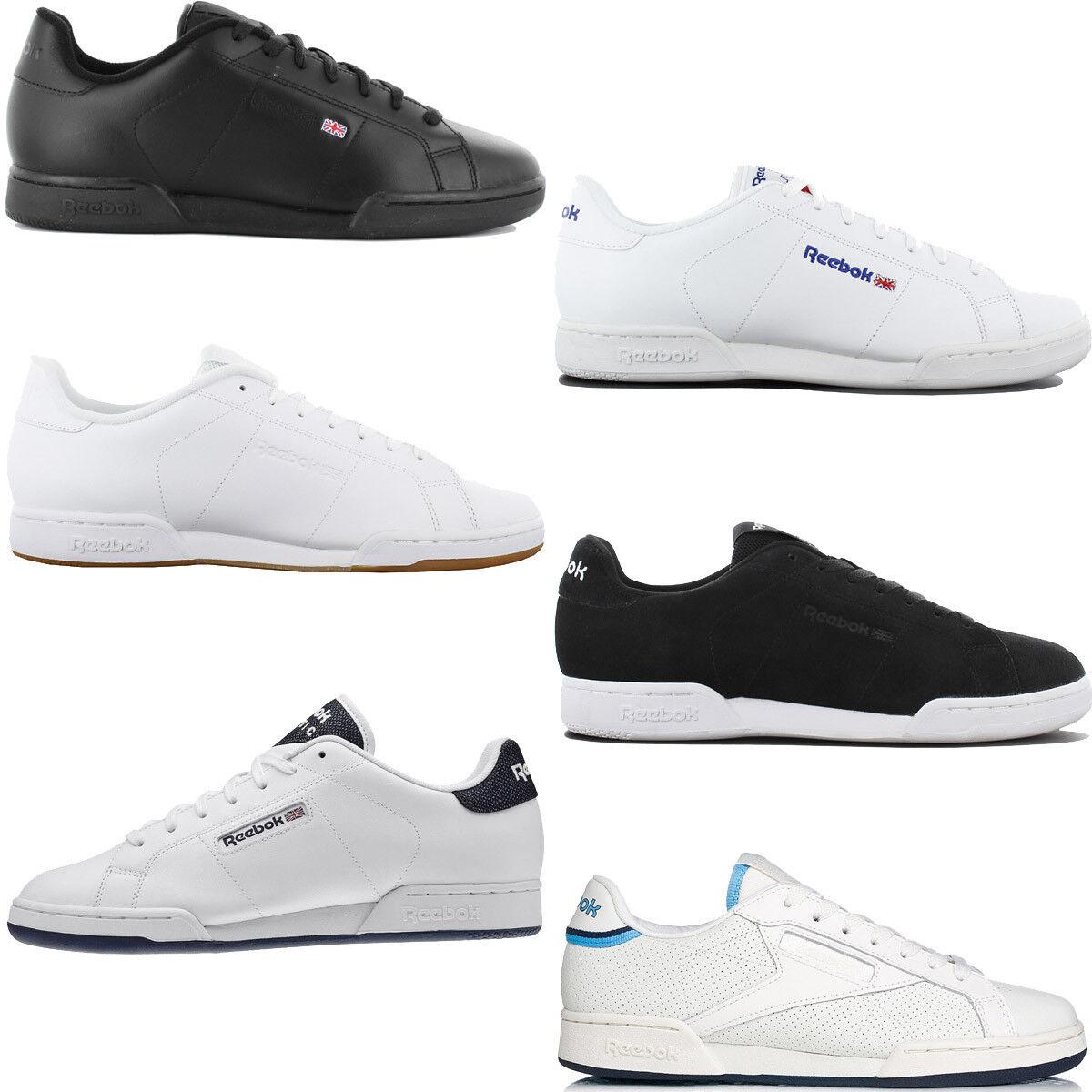 Reebok Classic NPC Leder Herren Sneaker Plus Leder Schuh Workout RBK Plus Sneaker Turnschuh 65ba92
