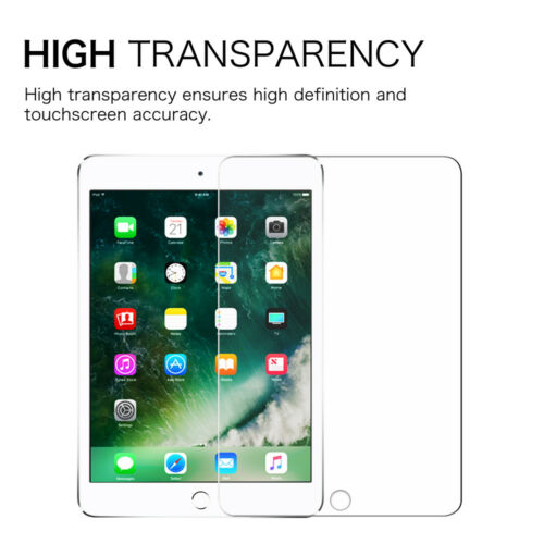 "For iPad 6th Generation 9.7/"" 2018 Tempered Glass Shatterproof Screen Protector"