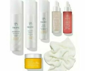 Tropic Skincare Collection Brighten And Renew Bundle Kit Ebay
