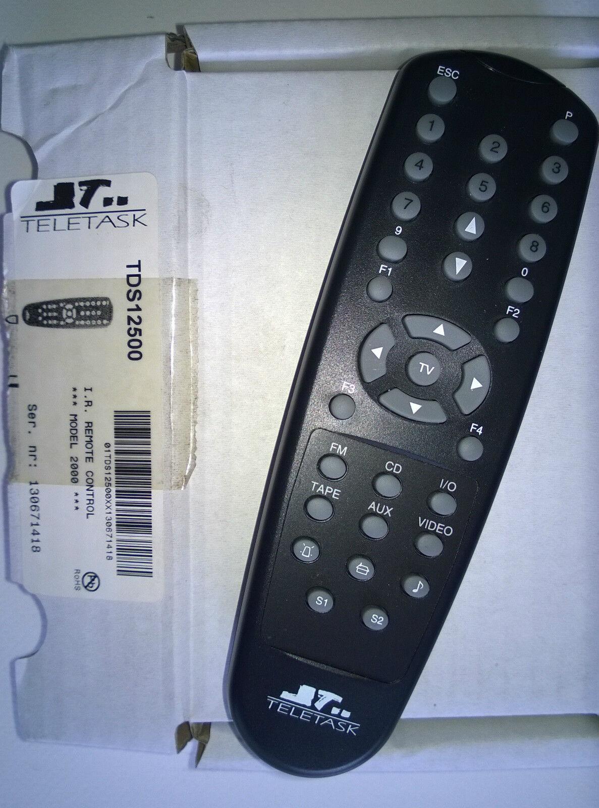 TELETASK TDS12500 IR Remote Control Model 2000 2000 2000 - IR afstandsbediening | Hochwertig  3ce193