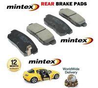 FOR Mazda RX8 1.3i 2.6 ROTARY 2003-2008 NEW REAR MINTEX BRAKE DISC PADS SET