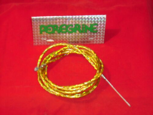 NOS BMX Old School Peregrine Cosmic Bicycle Brake Cable Gold
