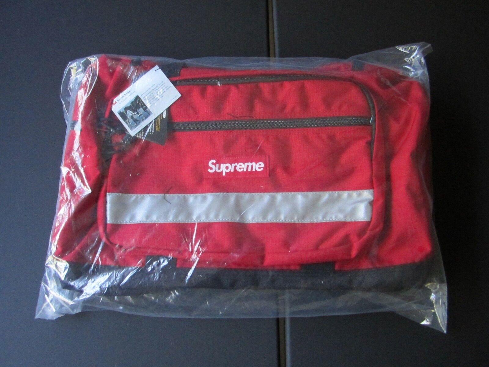 SUPREME HI-VIS DUFFLE BAG ROT 3M SCOTCHLITE CORDURA CDG FW2014 BOX LOGO CDG CORDURA TNF fa292b