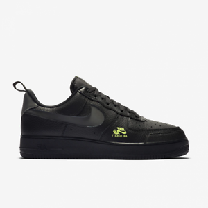 Nike-Air-Force-1-LV8-Utility-Noir-Gris-Volt-CV3039-002