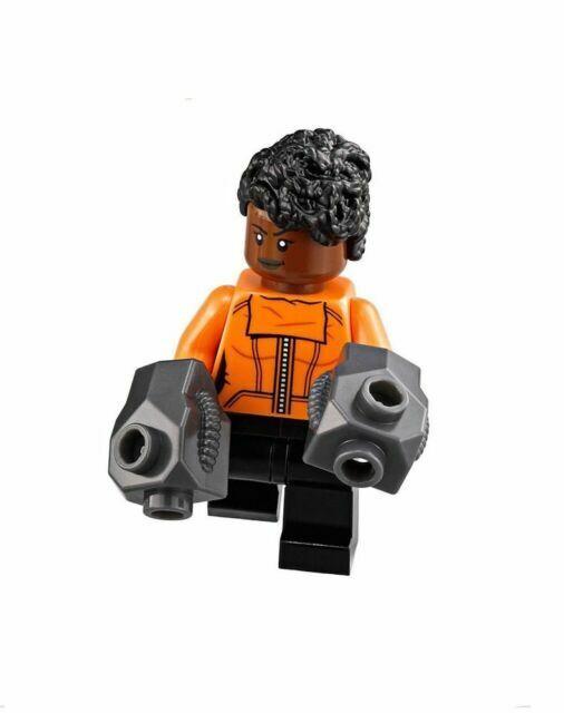 LEGO Minifigure Hair DARK TAN 4530 Female Girl Long Male Boy