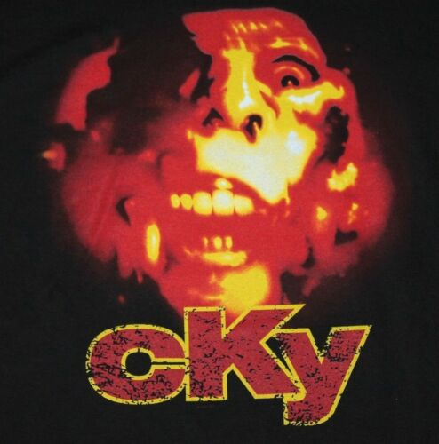 XL * NOS vtg 2003 CKY t shirt * camp kill yourself