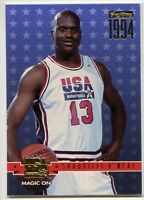 1994 Skybox Usa Basketball Parallel Gold Shaquille O'neal 72 - magic On Shaq
