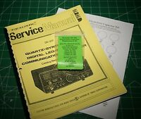 Realistic Dx-302 Capacitor Kit W/service Manual - Deluxe (7)transistors