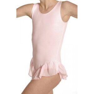 tunique de danse avec jupette - justaucorps -  PAPILLON PK4041, rose en 4/6 ans