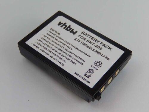 Batteria 1600mAh 3.7V Li-Ion per Denso BHT-200 BHT-400 BHT-600 BHT-300