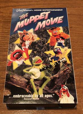 NEW VHS tape! - The Muppet Movie - Jim Henson 1999 | eBay The Muppet Movie Vhs 1999