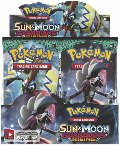 Pokemon Sun and Moon Guardians Rising Booster Pack Fast Ship 1x Booster Pack