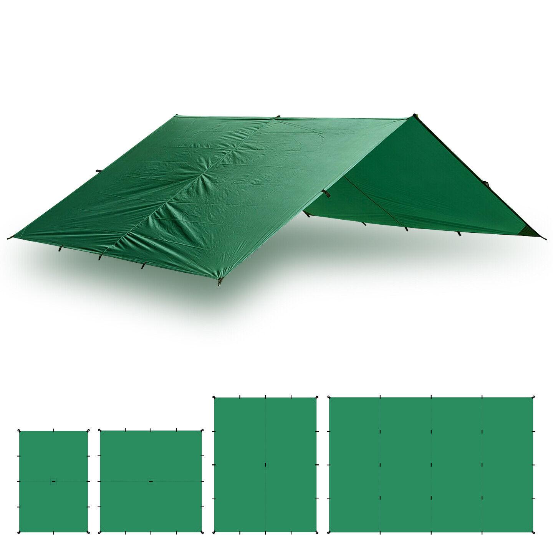 Aqua Quest Guide Tarp 10 x 7 ft Medium Waterproof Tarp Kit  verde