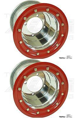 """TRX 450R 400EX 400X 300X   Mud Plug   Beadlock Wheels 10/""""   Alba Racing  10"""