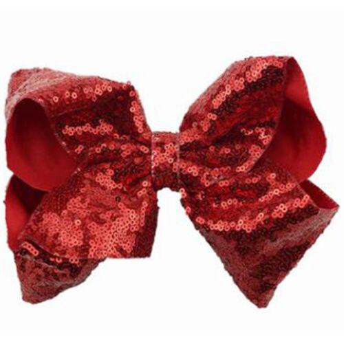 JoJo Alligator Grosgrain Princess Ribbon Hair Bow Clips for Kids Girls Hairgrips