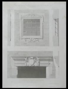 Mon ChéRi Toulouse, Maison Rue Des Changes, Porte Fenetre - 1869 - Gravure Architecture -