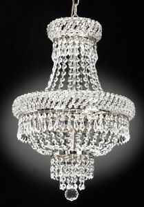 Image Is Loading French Empire Crystal Chandelier Chandeliers Lighting S
