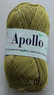 Elisa Apollo Strickgarn 50g (37€/kg) 100%Baumwolle Handstrickgarn