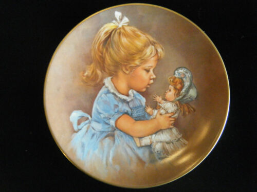 """Becky And Baby"" Collector Plate of Sugar and Spice Collection by Leo Jansen"