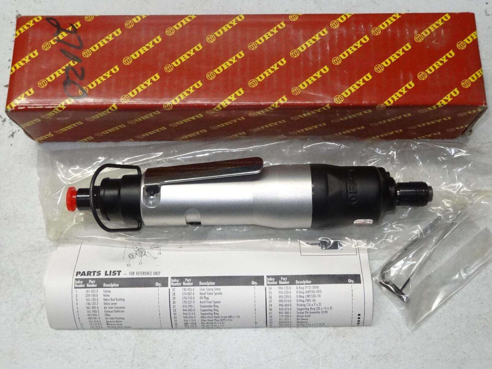 New AIMCO Uryu Alpha-45SD Acra-Pulse Screwdriver Air Pneumatic Tool 1/4
