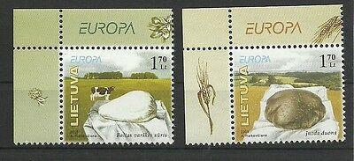 Kenntnisreich Litauen/ Cept 2005 Minr 871/72 ** GroßEr Ausverkauf Briefmarken