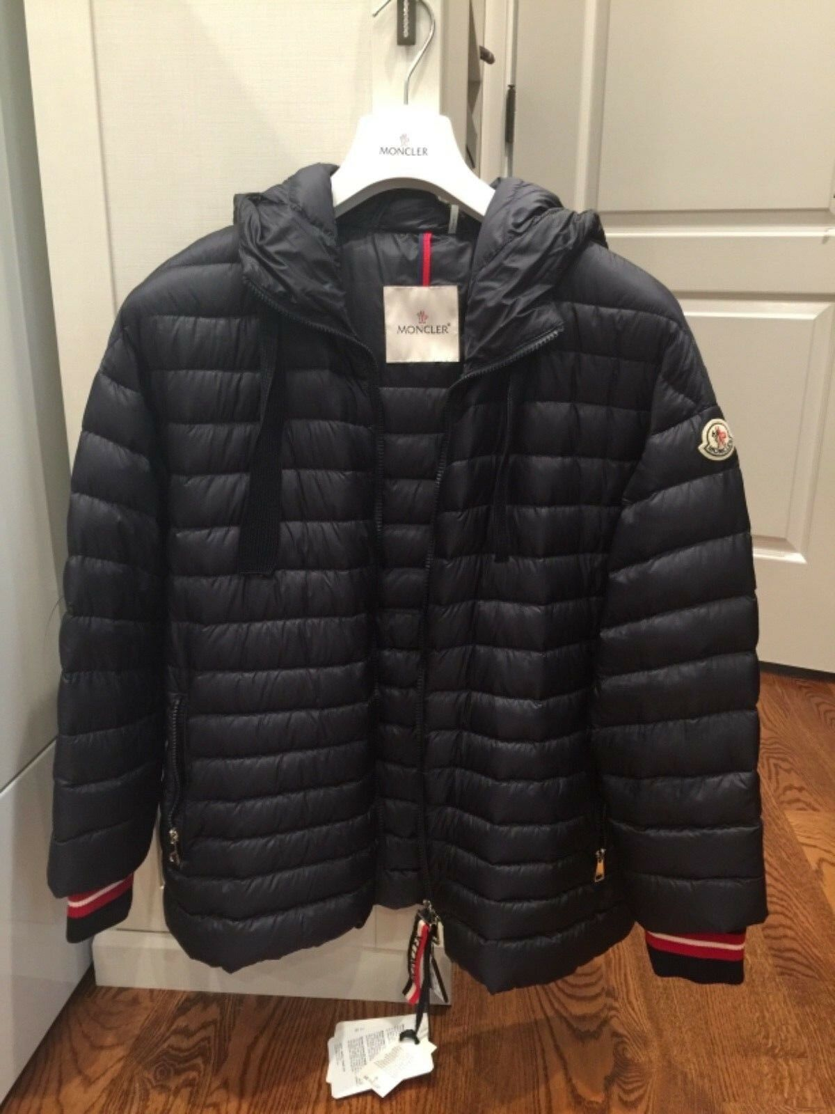 15f91796f Moncler Women's Size 2 / Medium Benitoite Quilted Down Jacket - Navy Blue