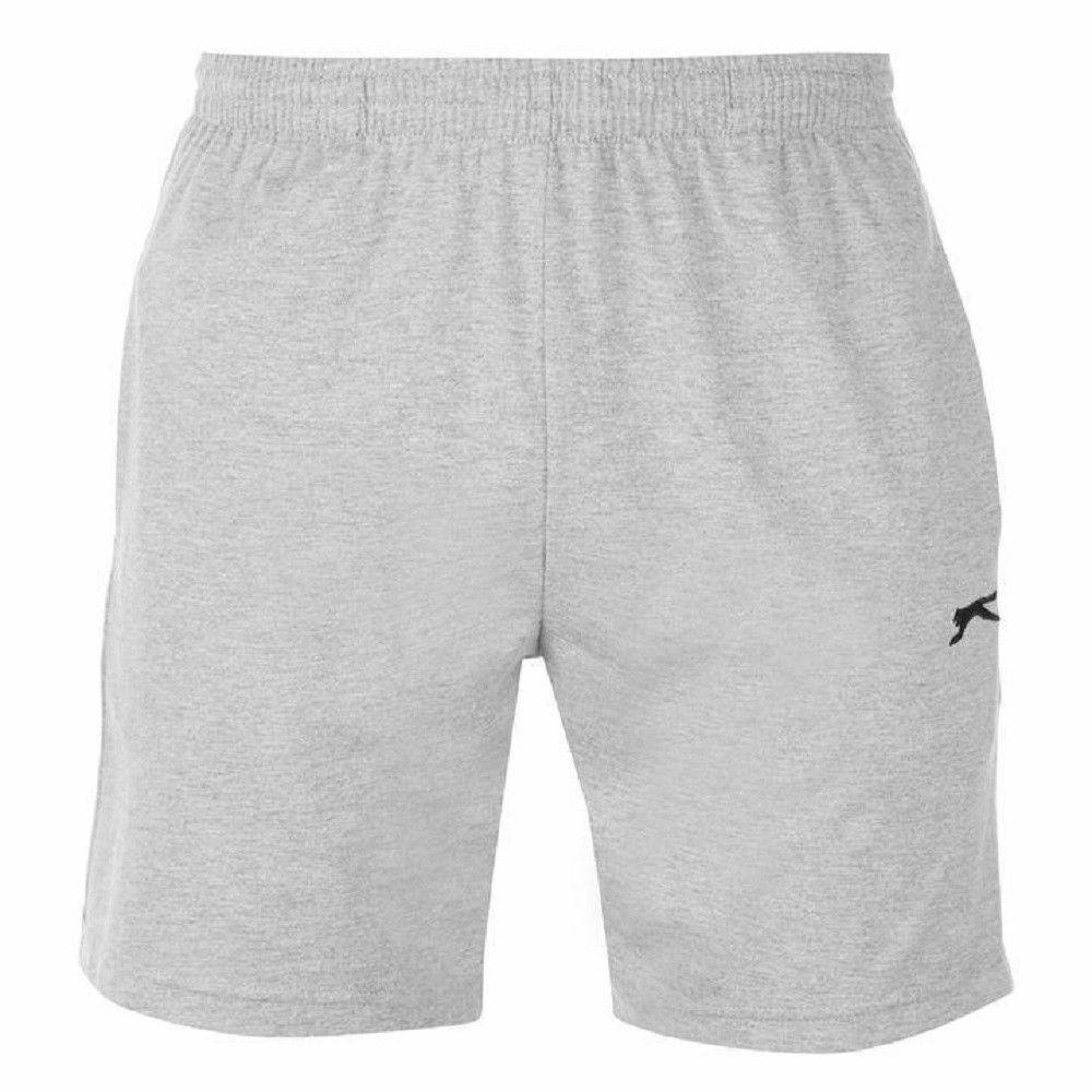 Slazenger Mens Woven Shorts Gym Running Training 2 Pockets Bottoms