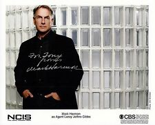 Mark Harmon signed 8x10 NCIS promo photo / autograph
